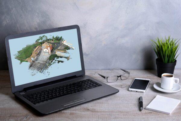 Chiesetta San Pietro - Nuvola 3D - Fotogrammetria - Sistema VeRa - Topoprogram